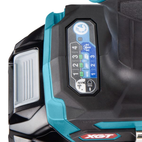 Аккумуляторный ударный гайковерт XGT 40 V MAX Makita TD001GD201